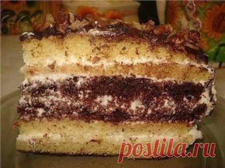 Торт «Сметанник»   Тут еда и лучшие рецепты