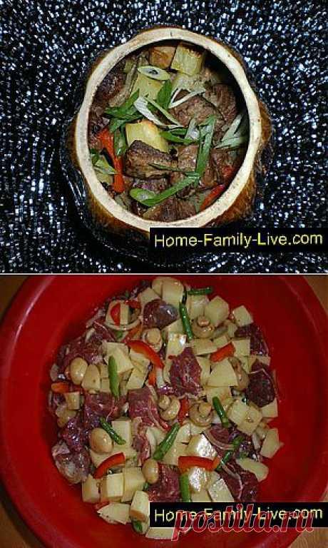 Кулинарные рецепты Жаркое в горшочке » Кулинарные рецепты