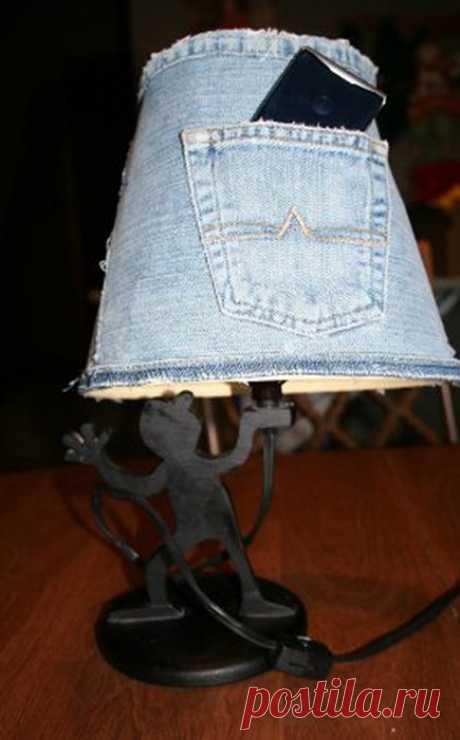 Новая жизнь старых джинсов / Как сэкономить