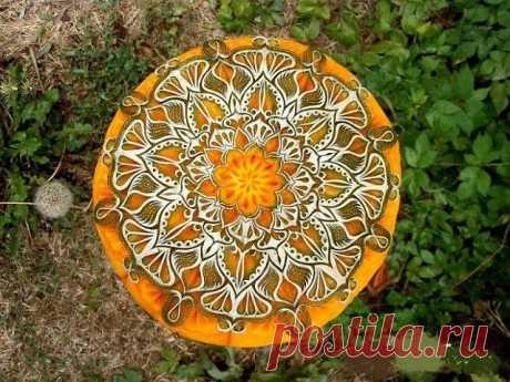 Невероятный карвинг по тыкве от мастера художественной резьбы по фруктам из Болгарии Ангел Боралиев.
