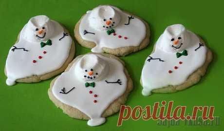 Печенье «Снеговики расстаяли»! » Женский Мир