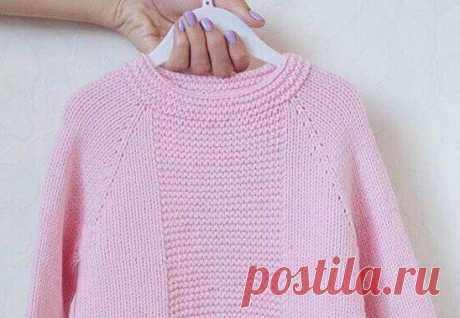 МК свитер спицами на любой размер от Вяжем с Мелкой , уровень вязания ** | Вязание Вяжем с Мелкой | Яндекс Дзен