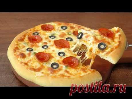 Лучшая домашняя пицца :: Рецепт теста для пиццы :: Рецепт томатного соуса :: Очень вкусно