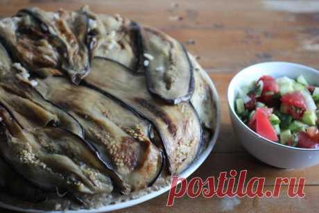 Рецепт Маклюба - Иорданская кухня | Kitchen727