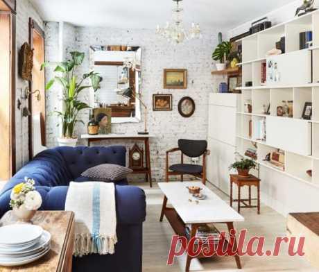 15 уютных интерьеров маленькой гостиной, которые сделают её лучшим местом в доме | Мой дом
