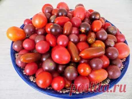 Сладенькие помидоры на зиму - праздничные / Любимая консервация 2019