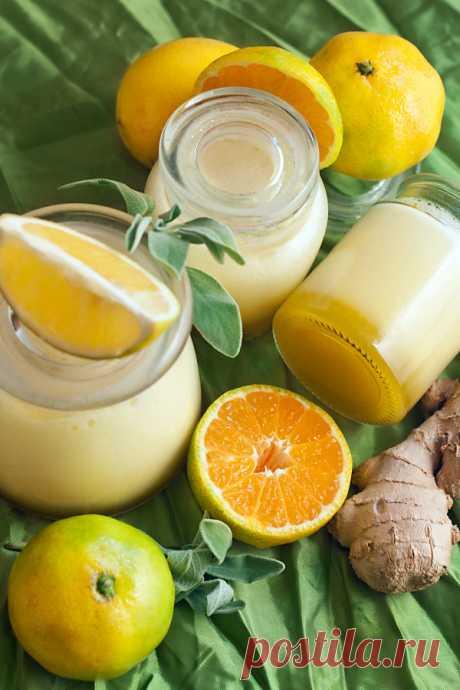 Взбитый джем лимон+мандарин+имбирь+шалфей - Рыжая книга кухонных пределов — LiveJournal