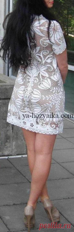 Кружевное платье крючком схемы. Схема вязания кружевного платья крючком. Кружевное платье крючком. Для вязания такого шедевра своими руками потребуется терпение и усидчивость. Схемы вязания кружевного платья крючком.
