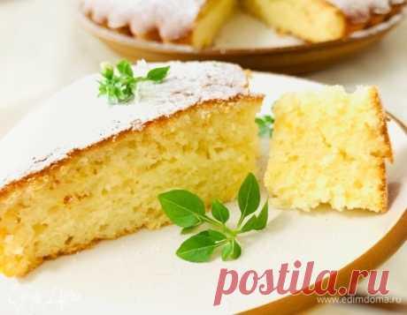 Лимонный пирог – сайт рецептов Юлии Высоцкой