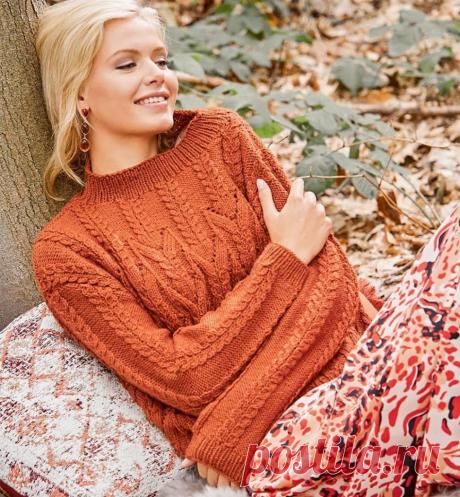 Уютные свитера на осень со схемами | Вязаные истории | Яндекс Дзен