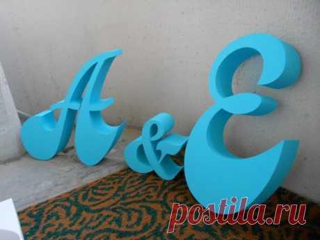Буквы из пенопласта своими руками - пошаговый мастер-класс (92 фото идеи)