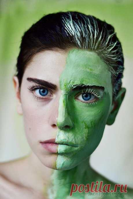 Green clay for the person – masks and properties