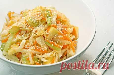 Салат из капусты кулинарный рецепт с фото от Paragrams