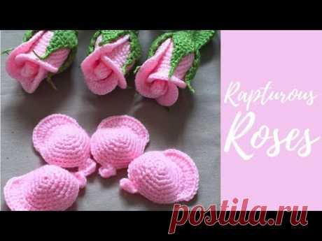 Crochet kleine Rose-Teil 1