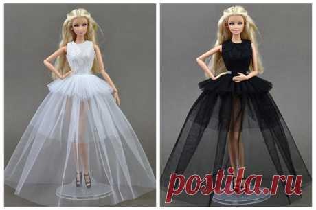 Одежда для куклы Барби и Монстер Хай крючком и спицами: схемы с описанием Красиво сшитое или связанное платье для куклы своими руками — настоящее искусство. Эта работа требует внимательности, аккуратности и терпения из-за большого наличия мелких деталей. Платья для кукол ру...