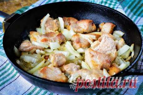 Свинина жареная на сковороде - вкуснее шашлыка | Простые рецепты с фото