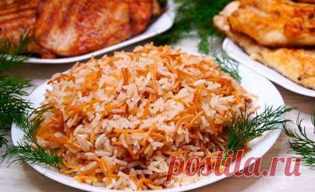 Новый гарнир — рецепт привезла из Турции соседка! И к нему на выбор вкусное мясо и рыба!