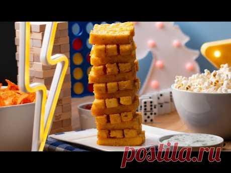 Jenga Polenta Sticks • Tasty