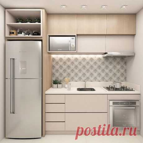 The decision for small kitchen