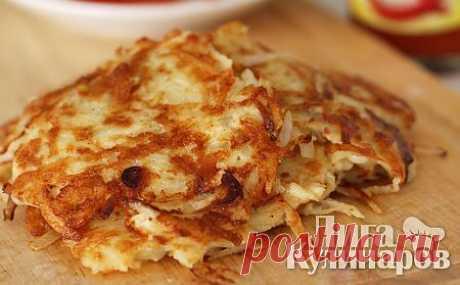 Классические картофельные драники — рецепт пошаговый от Лиги Кулинаров