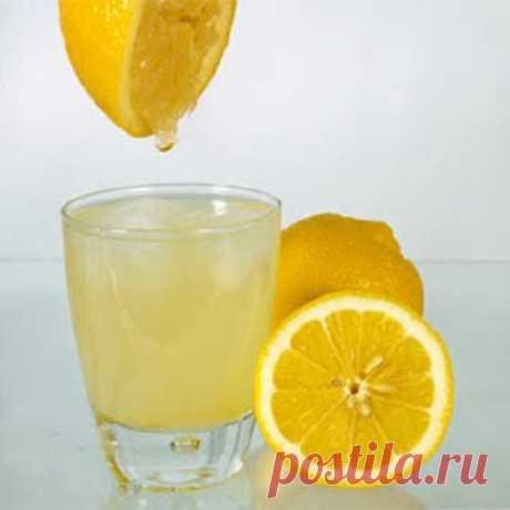 Ещё раз о пользе тёплой воды с лимоном / Будьте здоровы