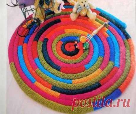 Los tapices pequeños por las manos: vyazannye o de los restos