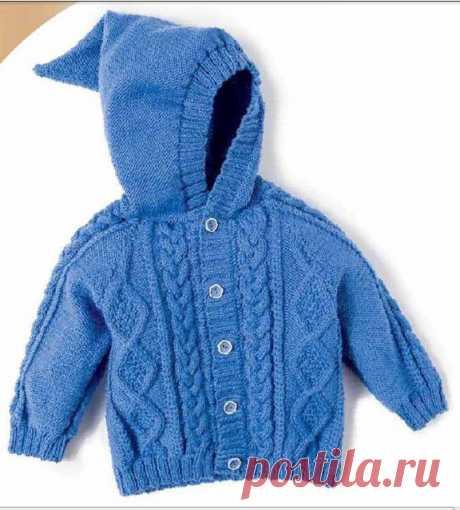 Жакет для мальчика - Для детей до 3 лет - Каталог файлов - Вязание для детей