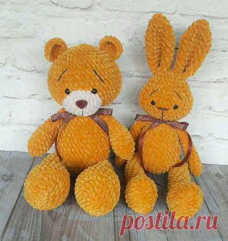 Пара желтых друзей из категории Болталка – Вязаные идеи, идеи для вязания