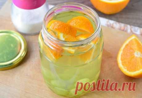 Апельсиново-виноградный компот