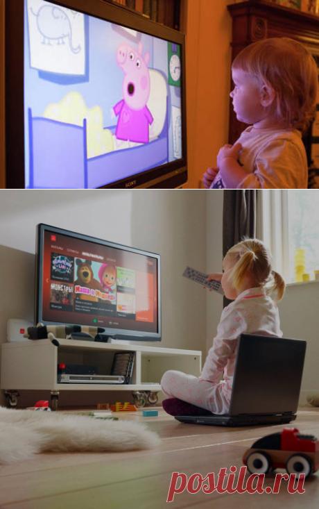 От технического прогресса никуда не деться. Количество и качество приспособлений будет только увеличиваться. Родителям необходимо выработать тактику поведения для того, чтобы ребенок не пострадал от влияния телевизора, и не был разобщен с техническим прогрессом.  Психологи вместе с детскими психиатрами и педиатрами сошлись в одном, что влияние телевизора на ребенка однозначно негативно. Все зависит от возраста маленького зрителя и от времени, проведенного перед голубым экраном.