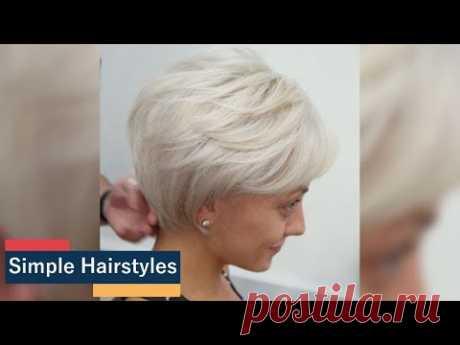 """50"""" Потрясающие короткие женщины Прически для простых тонких волос"""