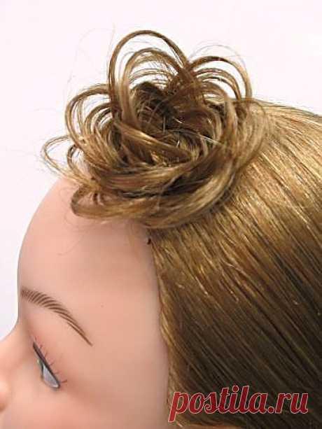 """""""Корона"""" - розочка из волос / Прически / Модный сайт о стильной переделке одежды и интерьера"""