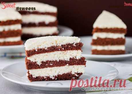 Шоколадно-кокосовый торт | Sweet Twittes