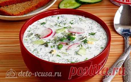 Холодник со щавелем: рецепт с фото холодника по-белорусски