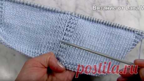 БЕЗУПРЕЧНОЕ вязание спицами (Уроки и МК по ВЯЗАНИЮ) – Журнал Вдохновение Рукодельницы