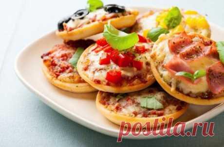 Мини-пицца | Любимые рецепты