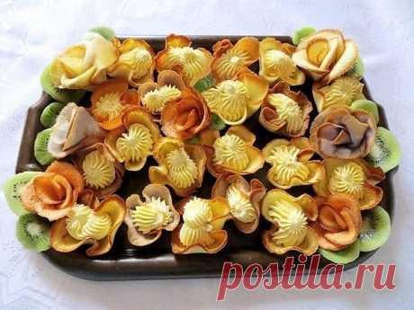 """Печенье """"Дивные розы"""" ."""