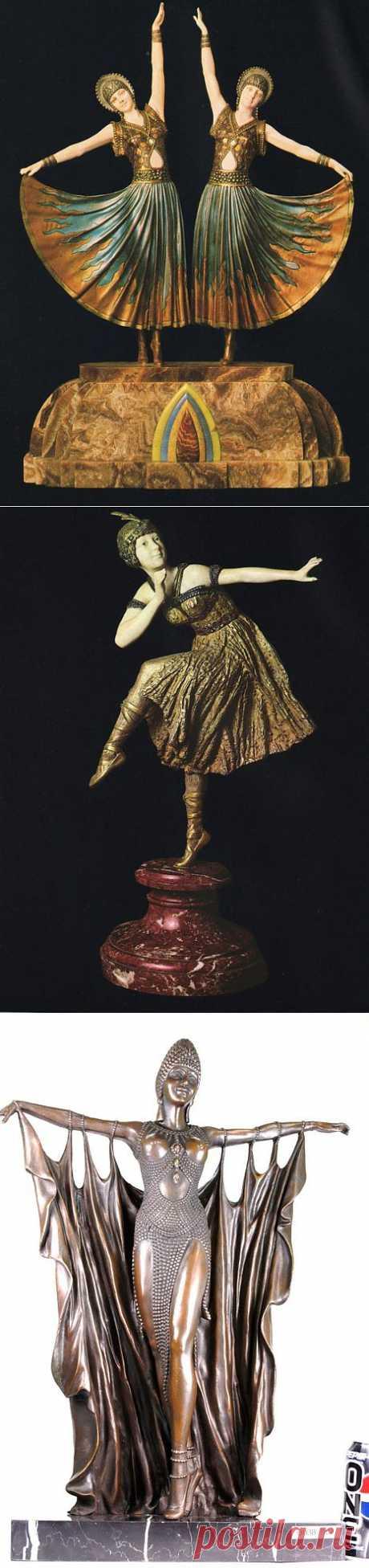 Дмитрий Чипарус — скульптор эпохи Ар-деко | Искусство