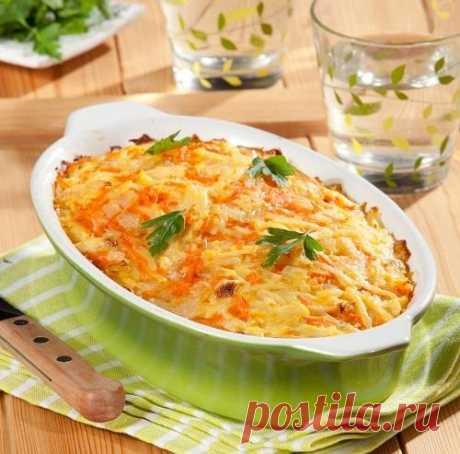 Рыбная запеканка с картофелем и морковью: пошаговый рецепт с фото