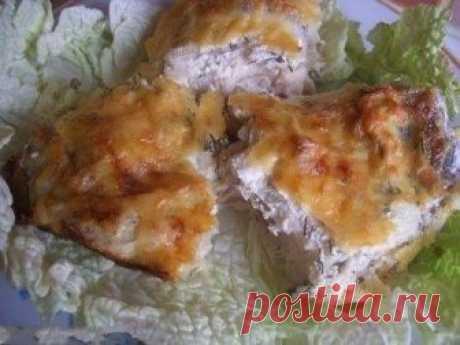 Рыба запечённая в сметане это изысканное блюдо для вашего стола | лёгкие и вкусные рецепты! | Яндекс Дзен