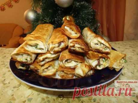Горячая закуска из лаваша с мясом и овощами - Наш уютный дом - медиаплатформа МирТесен