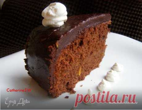 Торт Захер. Ингредиенты: сливочное масло, шоколад черный горький, сахарная пудра