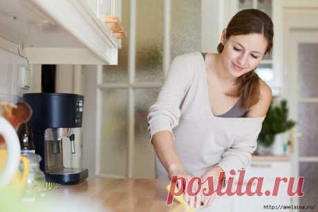 Убираем кухню - 6 полезных советов.