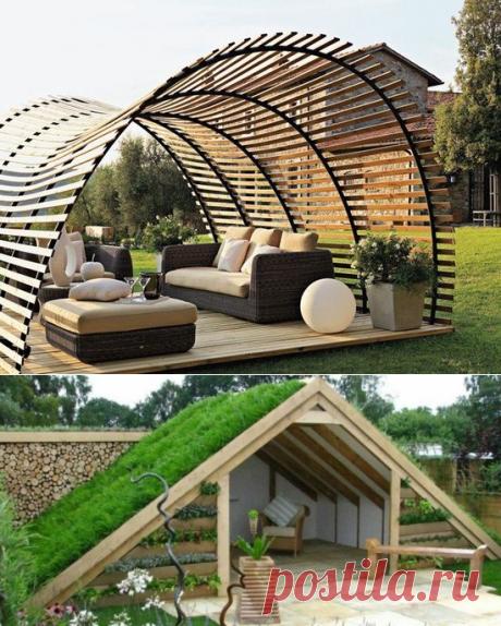 12 садовых беседок, которые можно построить самостоятельно | Новгородский строитель | Яндекс Дзен