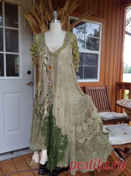 Яркие вязаные платья от американской мастерицы Luv Lucy.