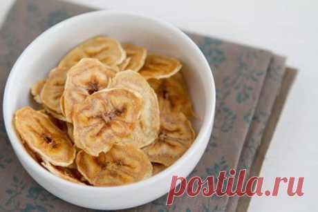 Полезный перекус - банановые чипсы! - Советы для тебя