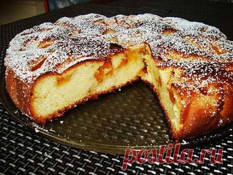 Пирог с абрикосами | Любимые рецепты