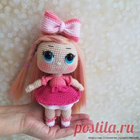 Вяжем куклу LOL. Описание