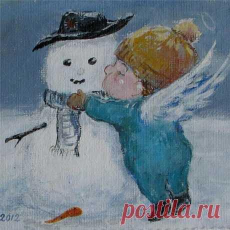 """А всё-таки спинку бы надо держать, Не складывать крылья, как лист не дрожать, Все дни без разбора - и вторник, и среду, И прочие дни отмечать, как победу Веселья над грустью, рассвета над тьмой, Сиянья над хмарью, весны над зимой. А ежели носа не можешь не вешать, Ищи поскорее, кого бы утешить, Кому бы сказать: """"Не тоскуй, не грусти"""". Глядишь, и себя ты сумеешь спасти. Лариса Миллер"""