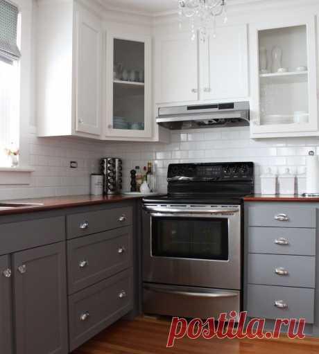 Отличные цветовые решения для кухонного гарнитура | Роскошь и уют
